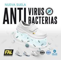 Calzado Seguridad Antivirus y Bacterias  Fal Seguridad