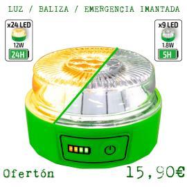 LUZ / BALIZA / EMERGENCIA LED V16