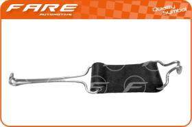 Fare 0296 - TIRANTE CENTRAL TUBO ESCAPE SEAT 12