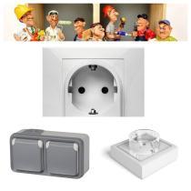 Electricidad - Mecanismos, Interruptores y Enchufes  Ferre