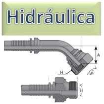 Terminales Prensar GAS (BSPP)  Hidráulica