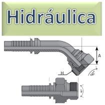 Terminales Prensar JIC  Hidráulica