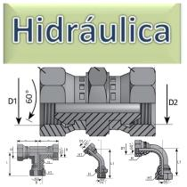 Adaptadores y Bridas ORFS  Hidráulica
