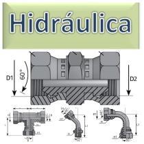 Adaptadores y Bridas JIC  Hidráulica